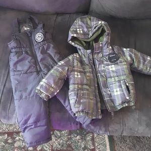 Weatherproof 12 month snowsuit